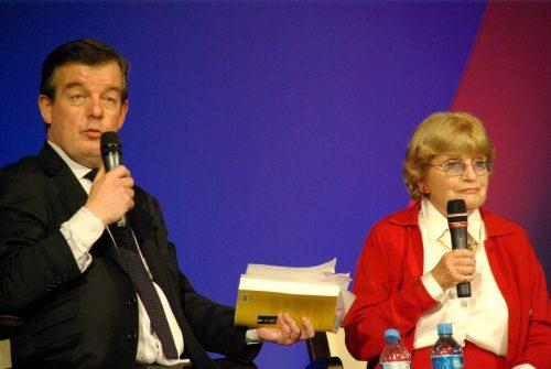 Françoise Dorin et Jean Piat 006