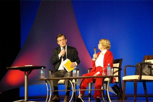Françoise Dorin et Jean Piat 012